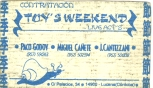 Toys Weekend conctact card